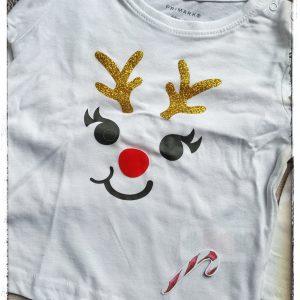 Camiseta Reno Rodolfo